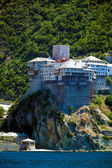 Dionissiou monastery, Athos Peninsula, Mount Athos, Chalkidiki, Greece — Stock Photo