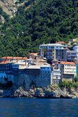 Monastère Grigoriou, péninsule de l'athos, Mont athos, Chalcidique, Grèce — Photo