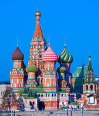 Saint Basil's Cathedral (Pokrovskiy Cathedral) (1561), Moscpw, Russia — Foto de Stock