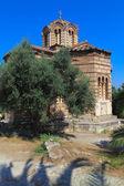 Church of the Holy Apostles, Acropolis, Athens, Greece — Stock Photo