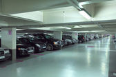 Underground parking garage in France — Stock Photo