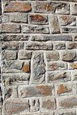 An old brick wall, Carcassonne, France — Zdjęcie stockowe