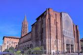 Basilica of St. Sernin (XI c.), Toulouse, France — Stock Photo