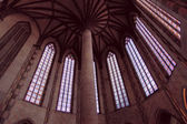 Inside Church of the Jacobins, Toulouse, France — Stock Photo