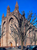 Church of the Jacobins, Toulouse, France — Stock Photo