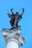 Liberty, symbol of France, from Colonnes des Girondins, Bordeaux — Stock Photo