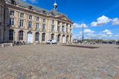 Place de la Bourse (1745-1747, designed by Jacques-Ange Gabriel) — Stock Photo