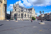 Saint-Michel Basilica (14th-16th ct.), UNESCO heritage site, Bordeaux, France — Stock Photo
