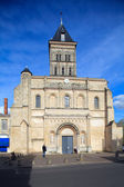 Saint-Seurin Basilica (11th.c.), UNESCO heritage site, Bordeaux — Stock Photo