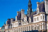 Office of Mayor of Paris - Hotel de Ville, France — Stock fotografie