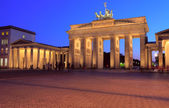 Brandenburger Tor (The Brandenburg Gate) (1788-1791) designed by — Stock Photo