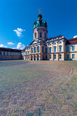 Schloss Charlottenburg (Charlottenburg Palace) (1701-1712) designed by Arnold Nering, Berlin, germany — Stock Photo