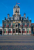 Stadhuis (City Hall) (1618) on Markt square, Delft, Netherlands — Stock Photo