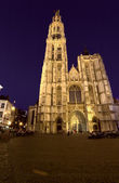 Cathedral of Our Lady (1352-1521), Antwerp, Belgium — Stock Photo