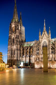 Kölner Dom, officially Hohe Domkirche St. Peter und Maria, Cologne, Germany — Stock Photo