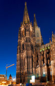 Kölner Dom, officially Hohe Domkirche St. Peter und Maria (The Cologne Cathedral) (1248-1880), Colgne, Germany — Stock Photo