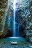 Chantara Waterfalls in Trodos mountains, Cyprus — Stock Photo