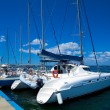 Yacht marine in Cienfuegos, Cuba — Stock Photo