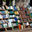 Book trading on Plaza de Armas, Old havana, Cuba — Stock Photo