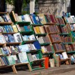 Stock Photo: Book trading on Plazde Armas, Old havana, Cuba