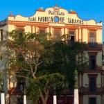 Partagas cigars factory building, Havana — Stock Photo