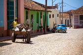 Houses in the old town, Trinidad, Cuba — Stock Photo