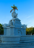 Indian fountain - symbol of Havana, Cuba — Stock Photo
