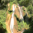 Waterfalls in Topes de Collantes, Cuba — Stock Video