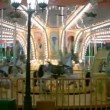Traditional carousel - pony and horse ride, merry-go-round — Stock Video #12886144