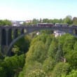 Adolphe bridge, Luxembourg — Stock Video #12886317