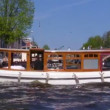 Canals of Amsterdam - boat trip , Netherlands — Stock Video