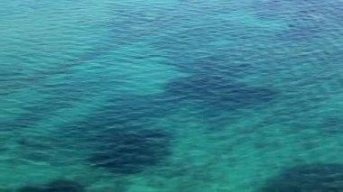 空中拍摄的地中海,塞浦路斯 — 图库视频影像