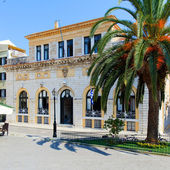 Korfu radnice (dříve: nobile teatro di san giacomo di cofu), greecer — Stock fotografie