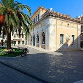 Korfu stadshuset (tidigare: nobile teatro di san giacomo di corfu), grekland — Stockfoto