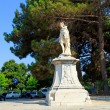 Monument to Schulenburg (1718, by Antonio Corradini), Kerkyra, C - Stock Photo