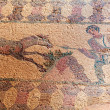 Ancient mosaics in the archaeological site, Paphos, Cyprus — Stock Photo #13298366