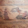 Ancient mosaics in the archaeological site, Paphos, Cyprus — Stock Photo #13298369