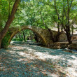 Tzelefos venetians Bridge in Trodos, Cyprus - Stock Photo