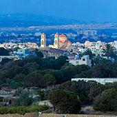 Vista aérea de paphos, chipre — Foto de Stock