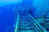 塞诺维娅沉船附近塞浦路斯帕福斯 — 图库照片
