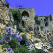 Saint Hilarion Castle, Kyrenia, Cyprus - Stock Photo