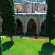 Court of Bellapais Abbey, Kyrenia, North Cyprus — Stockfoto