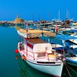Marina and Kyrenia Castle (16th c.), North Cyprus — Stock Photo