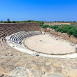 Ancient theater of Salamis near Famagusta - Stock Photo