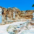 Ruins of Salamis near Famagusta - Stock Photo