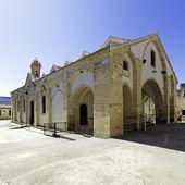 Beroemde omodos klooster in cyprus — Stockfoto