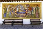 Mosaic of Kykkos Monastery, Cyprus — Stock Photo