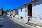 Typical old city houses, Kyrenia, North Cyprus — Stock Photo