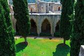 Court of Bellapais Abbey, Kyrenia, North Cyprus — Stock Photo