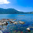 Mauntain Lake in Komodo Island - Stock Photo